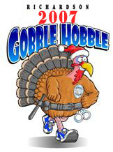 Gobble Hobble Information - The Annual 5K Race and Family Fun Run in Richardson, Texas brought to you by Dr. Cameron Laboret.